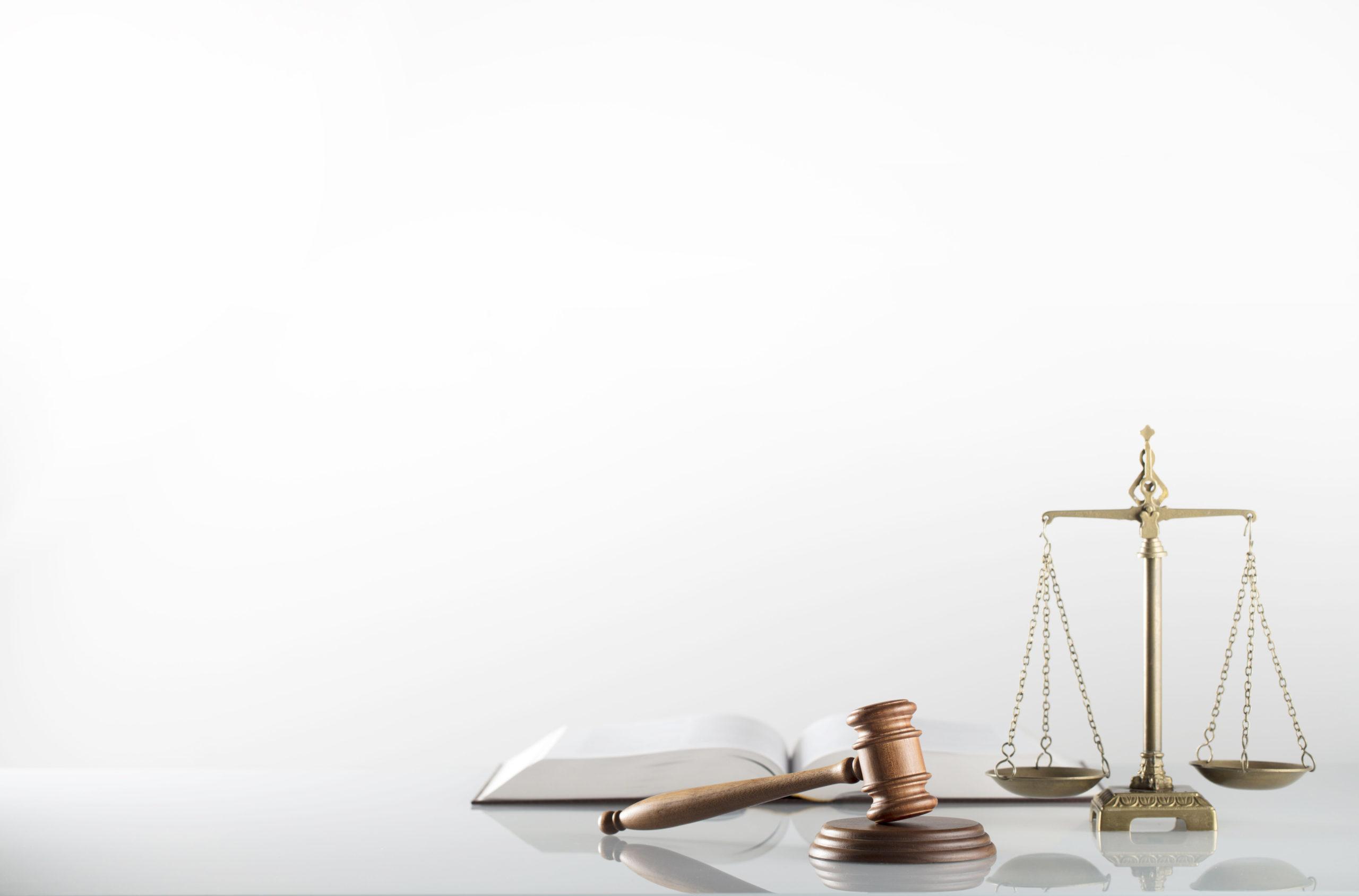Law Symbols Isolated